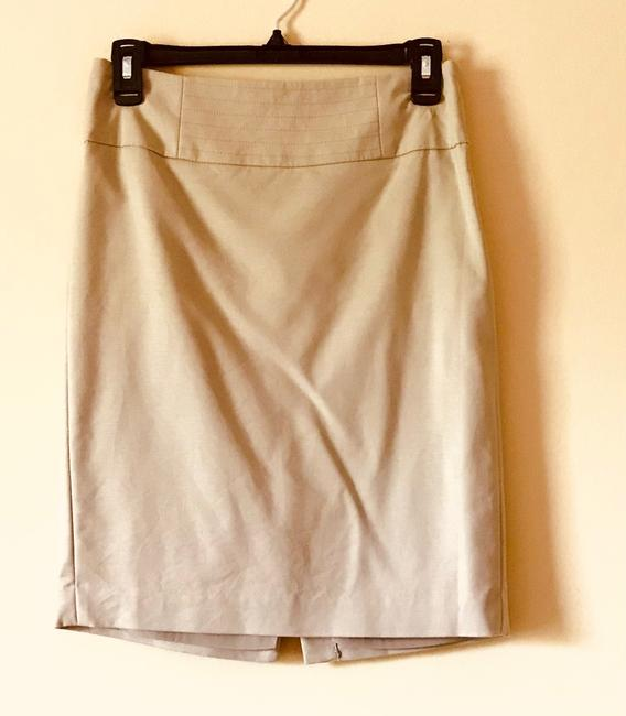 Item - Khaki Straight Professional Skirt Size 0 (XS, 25)