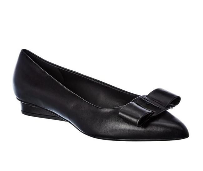 Item - Black Viva Leather Nero Nappa Calf 0730595 Flats Size US 6 Wide (C, D)