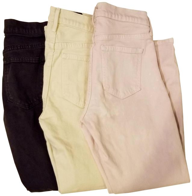 Item - Pink Yellow Grey/Blk Asst Distressed Stretch Denims Relaxed Fit Jeans Size 27 (4, S)