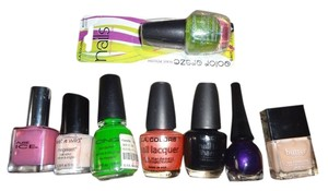 8 pc nail polish lot