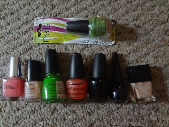 Other 8 pc nail polish lot