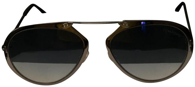 Item - Silver with Blue Lens Tf-508 Sunglasses