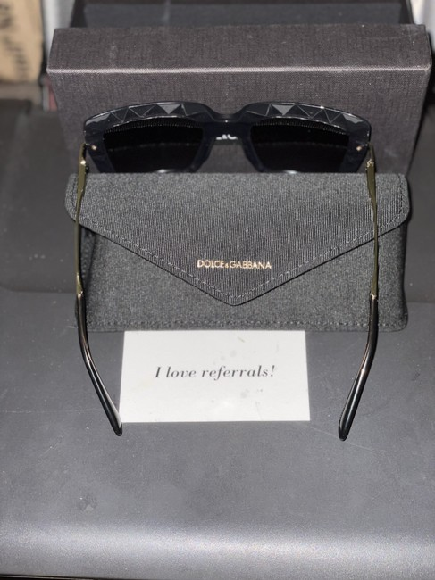 Item - Grey Dolce & Gabbana Square Dg-6111 Sunglasses