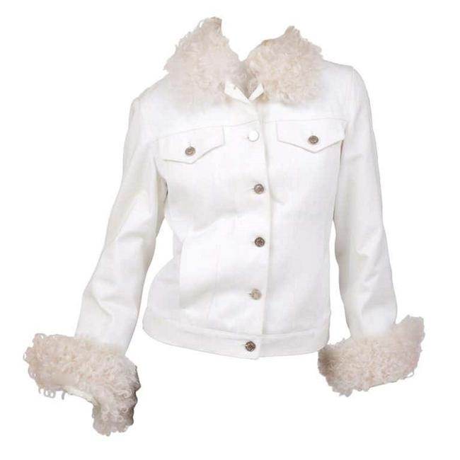 Item - White Tom Ford For and Lamb Fur Jacket Size 4 (S)