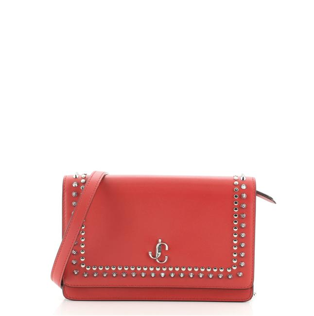 Item - Palace Studded Small Red Leather Cross Body Bag