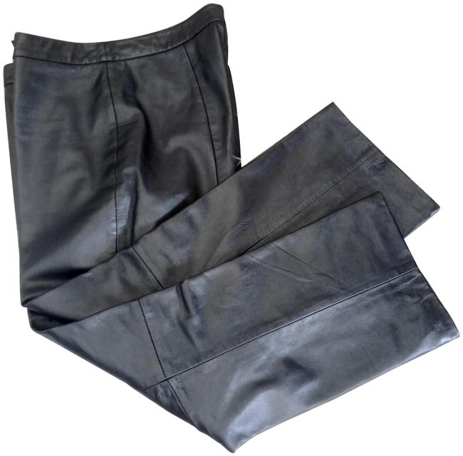Item - Pewter Gray Soft Leather Fully Lined Pants Size 10 (M, 31)
