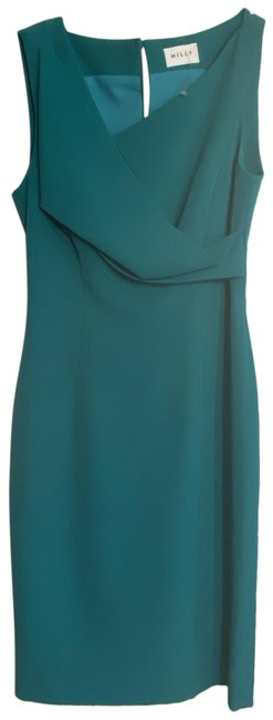 Item - Teal New Msrp 345 Short Casual Dress Size 4 (S)