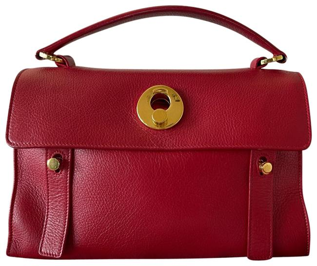 Item - Ysl Red Leather Cross Body Bag