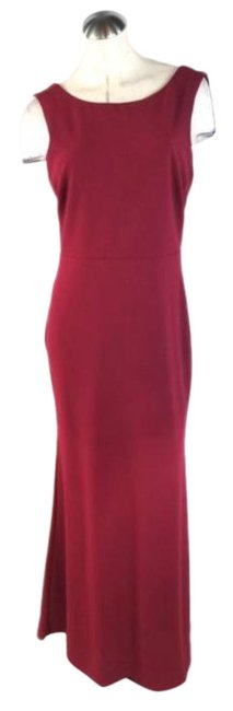 Item - Red Mermaid Long Cocktail Dress Size 12 (L)