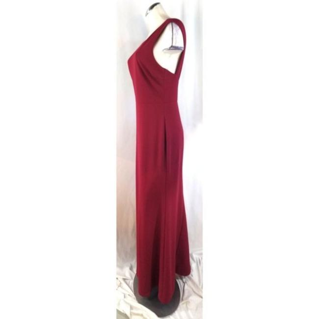 Lulu*s Red Mermaid Long Cocktail Dress Size 12 (L) Lulu*s Red Mermaid Long Cocktail Dress Size 12 (L) Image 3