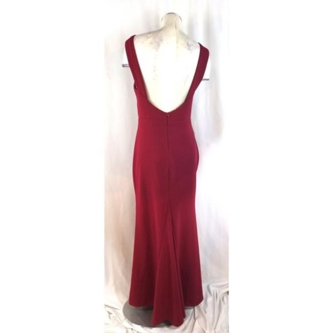 Lulu*s Red Mermaid Long Cocktail Dress Size 12 (L) Lulu*s Red Mermaid Long Cocktail Dress Size 12 (L) Image 4