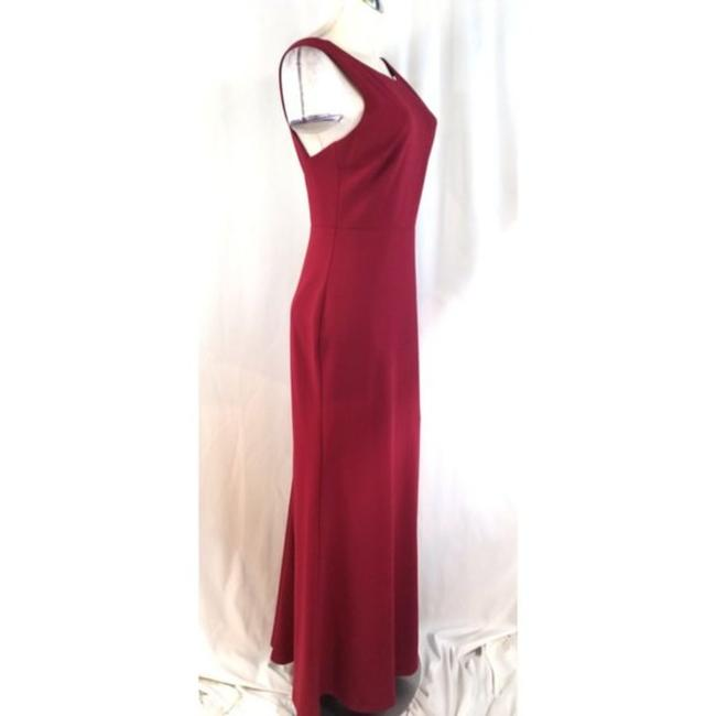 Lulu*s Red Mermaid Long Cocktail Dress Size 12 (L) Lulu*s Red Mermaid Long Cocktail Dress Size 12 (L) Image 5