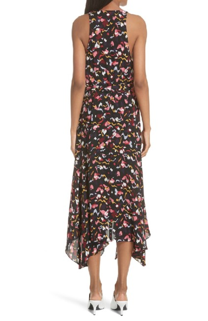A.L.C. Coral New Roslyn Silk Wrap Sleeveless Midi Long Casual Maxi Dress Size 6 (S) A.L.C. Coral New Roslyn Silk Wrap Sleeveless Midi Long Casual Maxi Dress Size 6 (S) Image 7
