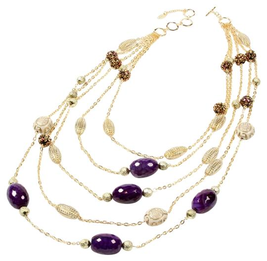 Amrita Singh Indian Wells Necklace in Purple