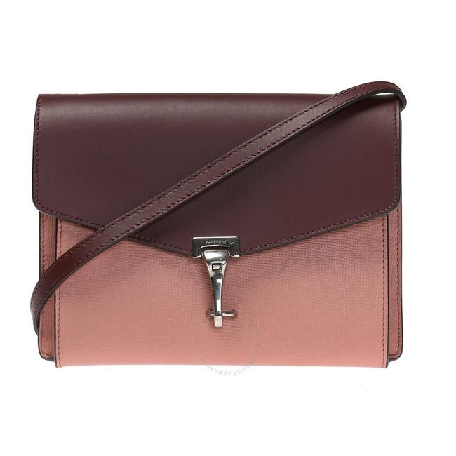 Item - Two-tone Dusty Rose - Deep Claret Leather Cross Body Bag