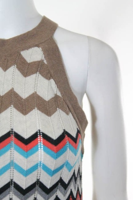 Autumn Cashmere Chevron Dress