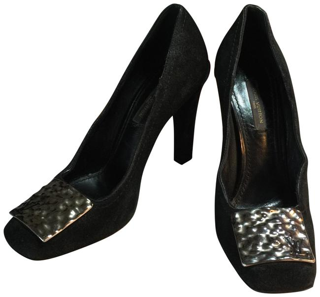 Item - Black Silver Italy Formal Shoes Size EU 36 (Approx. US 6) Regular (M, B)