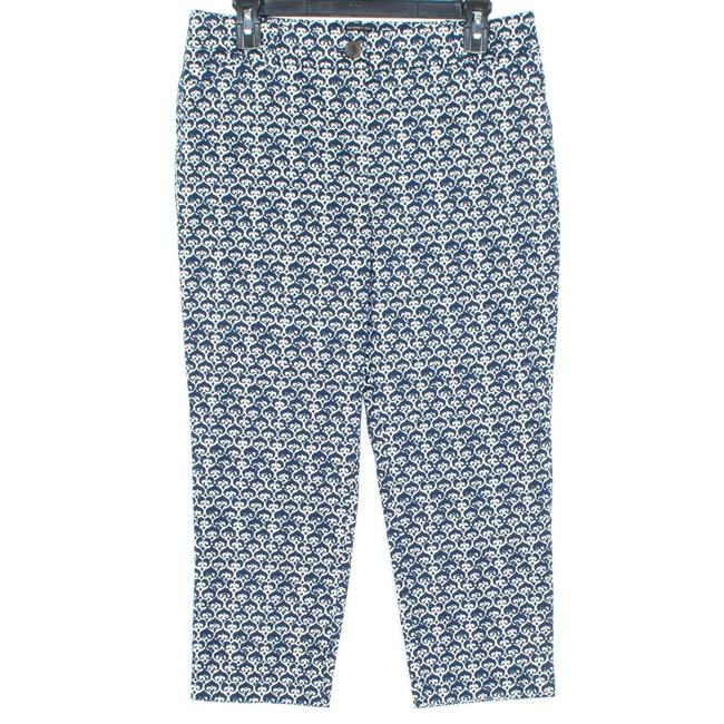 Item - Blue Womens The Perfect Crop Bf Pants Size Petite 8 (M)