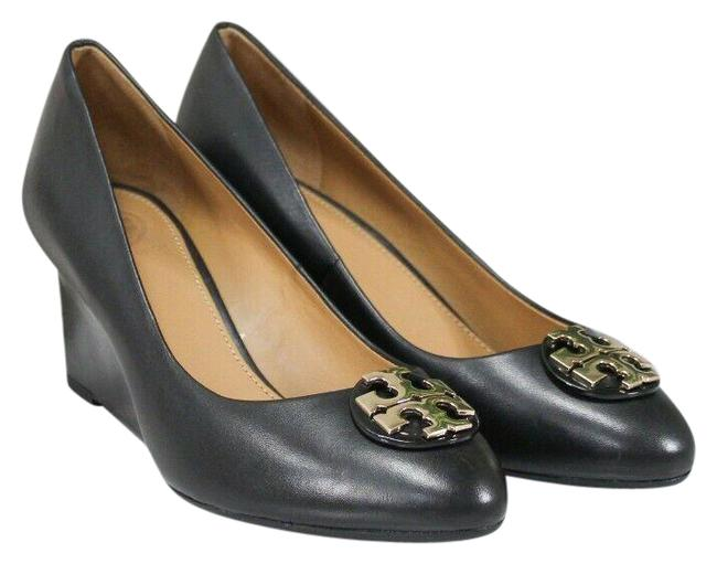 Item - Perfect Black Claire Calf Leather 65mm Closed Toe Slip On Heel 60915 Size-6.5 Pumps Size US 6.5 Regular (M, B)