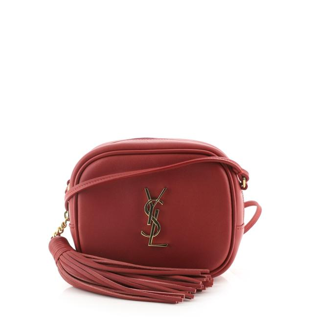 Item - Monogram Blogger Classic Small Red Leather Cross Body Bag
