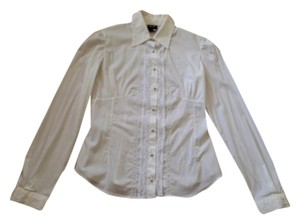 Dolce&Gabbana Shirt Front Button Button Down Shirt White