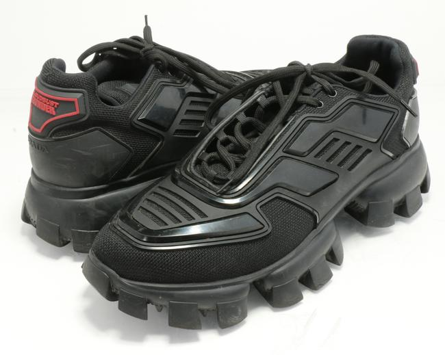 Item - Black Cloudbust Thunder Technical Fabric Sneakers Shoes