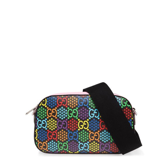 Item - Gg Psychedelic Multi Color Leather Cross Body Bag