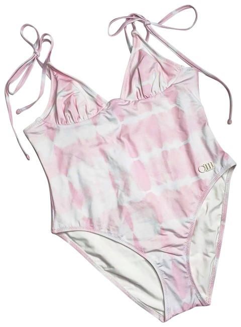 Item - Pink Olympia Swimsuit Tie Dye One-piece Bathing Suit Size 8 (M)