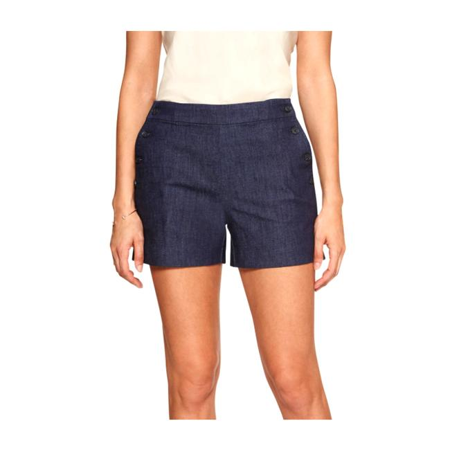 Item - Blue Tailored Pull-on 4 Inch Shorts Size 16 (XL, Plus 0x)