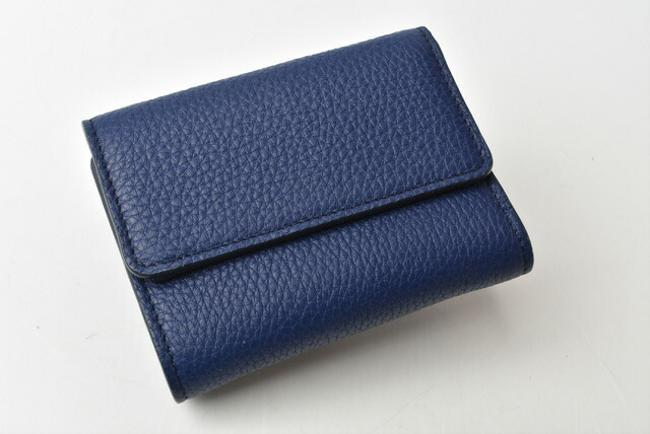 Blue Chloé Chloe Mini Aby Abbey Small Trifold Wallet Blue Chloé Chloe Mini Aby Abbey Small Trifold Wallet Image 3