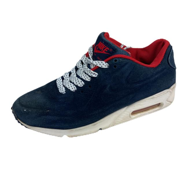 Nike Blue Air Womens Max Suede 90 Vt Red 472489 Sneakers Size US 7 Regular (M, B) Nike Blue Air Womens Max Suede 90 Vt Red 472489 Sneakers Size US 7 Regular (M, B) Image 1