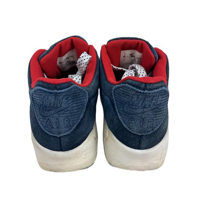 Nike Blue Air Womens Max Suede 90 Vt Red 472489 Sneakers Size US 7 Regular (M, B) Nike Blue Air Womens Max Suede 90 Vt Red 472489 Sneakers Size US 7 Regular (M, B) Image 3