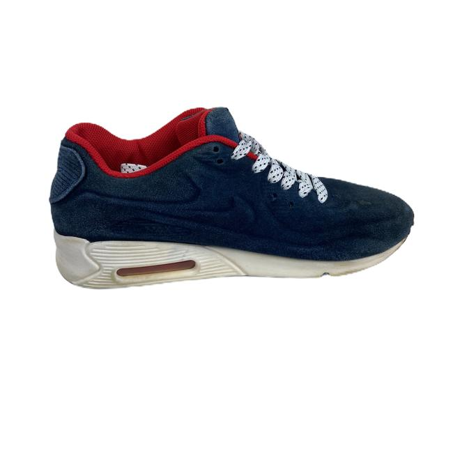 Nike Blue Air Womens Max Suede 90 Vt Red 472489 Sneakers Size US 7 Regular (M, B) Nike Blue Air Womens Max Suede 90 Vt Red 472489 Sneakers Size US 7 Regular (M, B) Image 6