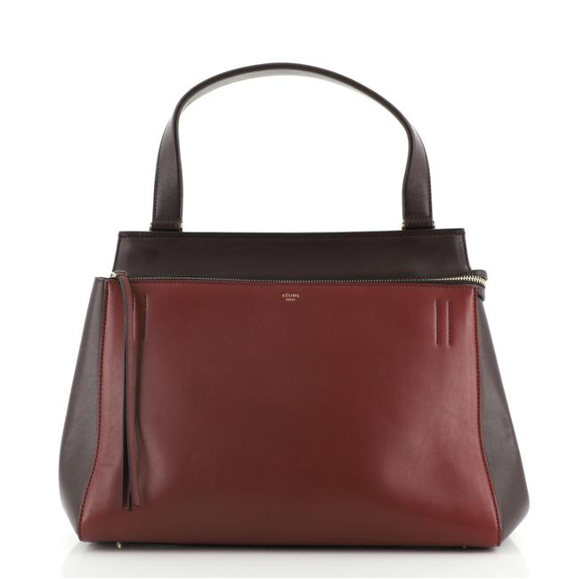 Item - Edge Large Red Leather Tote