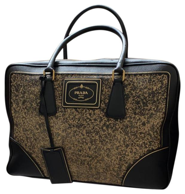 Item - Saffiano Large with Secure Lock Weekend/Travel Bag