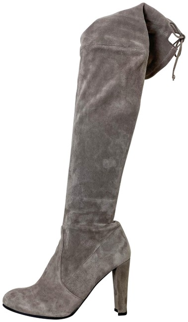 Item - Taupe Gray Highland Boots/Booties Size US 7 Regular (M, B)