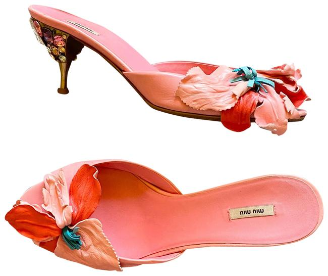 Item - Pink Cruise 2008 Jeweled Sandals Formal Shoes Size EU 38 (Approx. US 8) Regular (M, B)