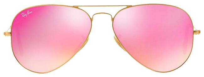 Item - Pink Aviator Rb 3025 112/4t - Free 3 Day Shipping Pilot Sunglasses
