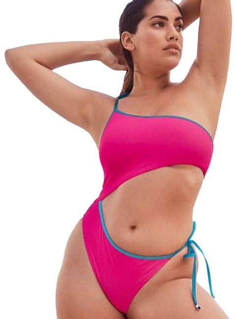 Item - Pink Cutout Small One-piece Bathing Suit Size 4 (S)
