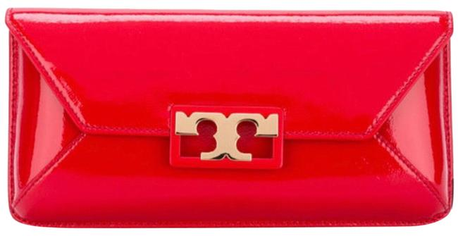 Item - Patent Red Leather Clutch