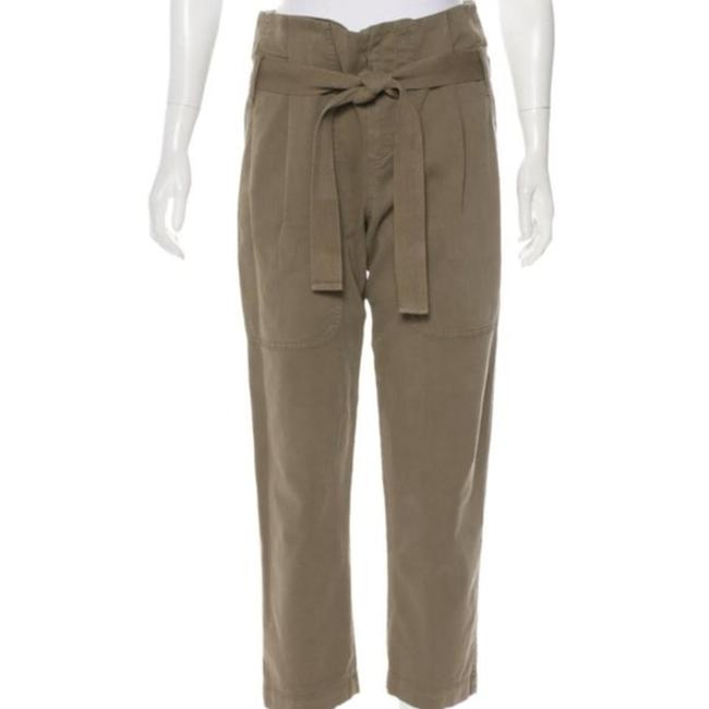 Item - Olive Brown High-rise Cropped Pants Size 4 (S, 27)