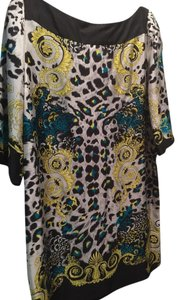 Versace Top Lemon + Print