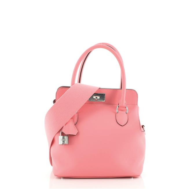 Item - Toolbox Swift 20 Pink Leather Tote