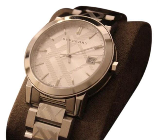 Item - Silver Checkered Watch