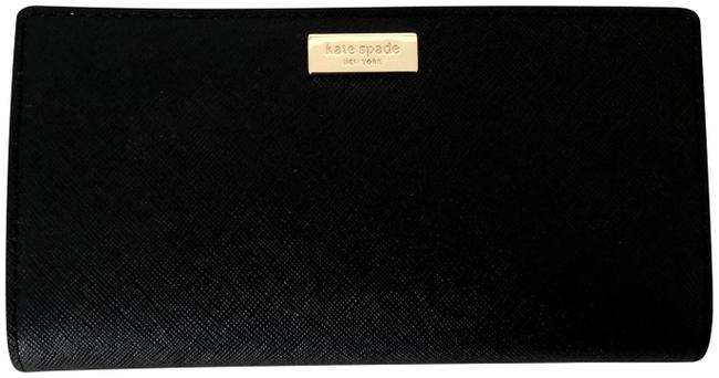 Item - Black Saffiano Leather Stacy Wallet