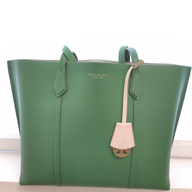 Item - Perry In Arugula Green Leather Tote
