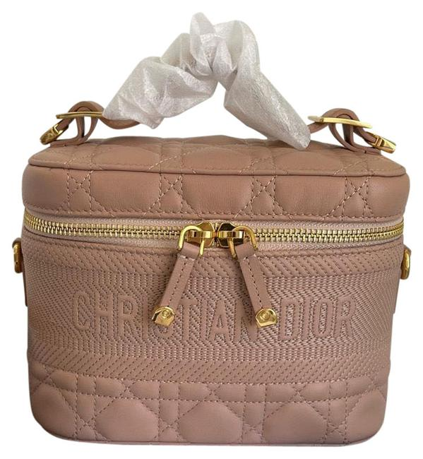 Item - travel Vanity Small Rose Des Vents Lambskin Leather Cross Body Bag