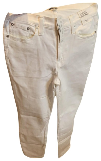 Item - White Lookout High Rise Crop Skinny Jeans Size 6 (S, 28)