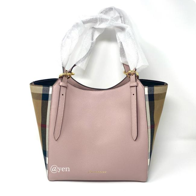 Item - House Check Durby Canterbury Orchid Leather Tote