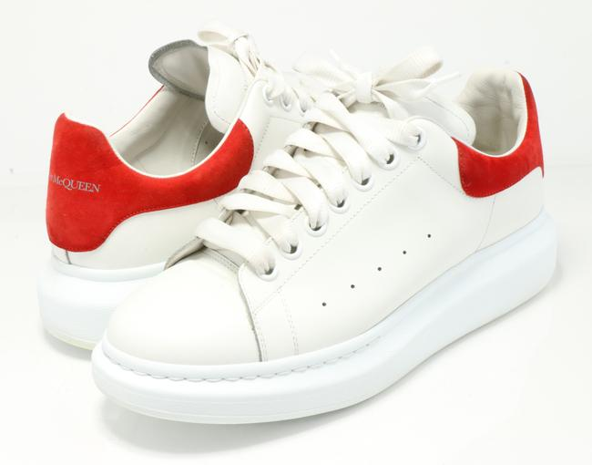 Item - White/Red Oversized Sneakers Shoes
